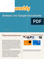Weebly Embed Google Drive Document