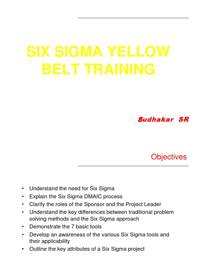Yellow Belt Training | Six Sigma | Causality