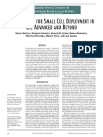 Beamforming for Small Cell Deployment