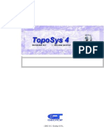 Toposys Manual