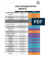 Production Schedule [Final Draft]