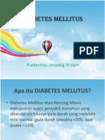 DIABETES MeLLITUS.pptx Penyuluhan