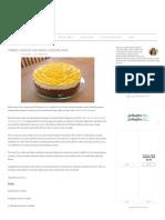 Three Cheese No-Bake Cheesecake | Olga's Flavor Factory copy copy