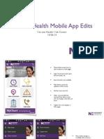 Novant Health Mobile App Edits 7-15-14