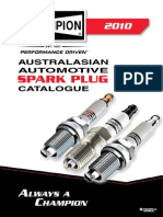 Champion Spark Plugs Catalogue 2010(V1s)