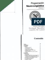 Richard Bandler & John Grinder - Programacion Neurolinguistica Vol 1.pdf