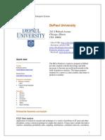 Na Il Depaul University Profile Final