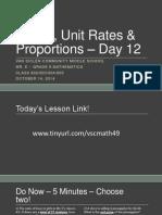 Lesson #12 - Percents
