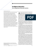 Quotas Under the Right to Education