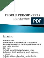 Teori & Prinsip Kerja Motor Induksi