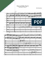 Mendelssohn - Octet Scherzo