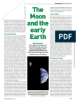 The Moon and the Early Earth