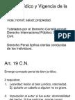 Bien Jurídico y Vigencia de la norma..ppt