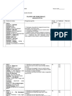 0 Planificare Calendaristica Ixa Sem.ii