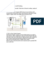 uk earthing systems and rf earthing