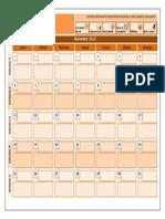Class calendar.docx