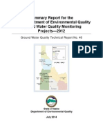Gw Monitoring Projects Summary Reports Tech Report 46