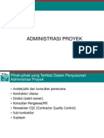 Administrasi Proyek