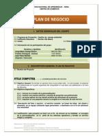 Plan de Negocio Organizacion Final Entrega