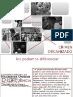 delincuencia comun vs organizada.ppt