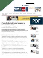 Procedimiento tributario nacional.pdf