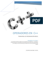 OPERADORES EN  C++ .pdf