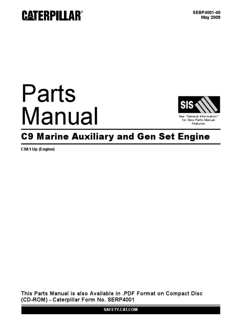 caterpillar c9 spare parts manual rh scribd com caterpillar parts manual download caterpillar parts manual gc15