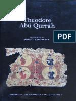Theodore Abu Qurrah by J.lamoreaux