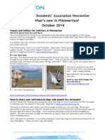 What's new in Plimmerton? October 2014 newsletter