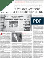 13-10-2014 El contacto en McAllen tiene su historia de espionaje en NL