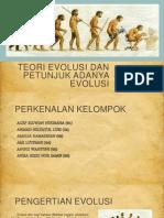 Teori Evolusi Dan Petunjuk Adanya Evolusi
