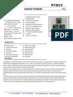 RFM22 manual