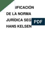 Clasificación de las norma jurídica según Hans Kelsen.docx