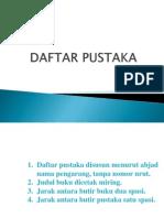 (11) Daftar Pustaka.pptx