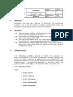 Procedimiento Instalacion Estructuras Metalicas Duoc.doc