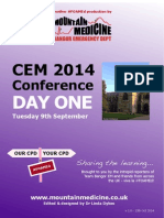 CEM 2014 Conference Report Day 1