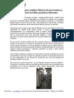 Visita para auditar fábricas de proveedores.pdf