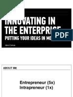 GA Innovating in the Enterprise Idea 1