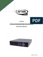 4-Channel Embedded Digital Video Recorder