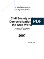 Civil Society and Democratization