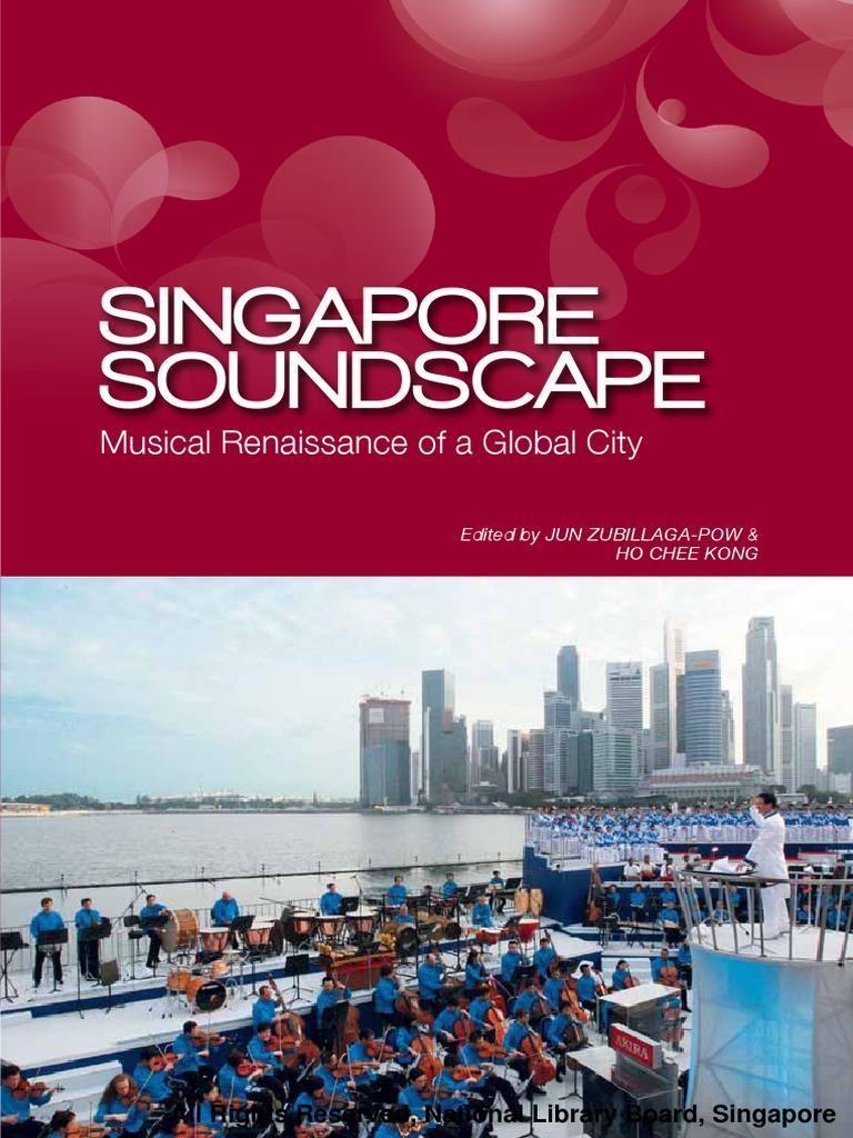 The Singaporean Soundscape Singapore Music Education Tendencies Kaos Japanese City Hitam L