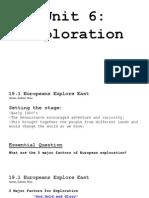 unit 6-exploration