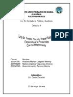Ley de Timbre Fiscal y Papel SelladoTrabajo.pdf