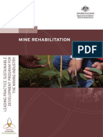Mine Rehabilitation