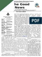 Good News-Annunciation Newsletter October 2014