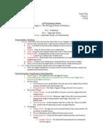 APP Ch.3 Outline