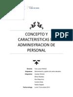 Concepto y caracteristicas de adminisyracion de personal.docx