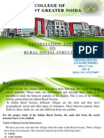 Rural Social Structure