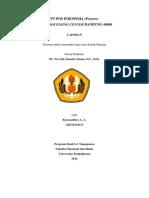 Laporan Magang PT Pos Indonesia - MPC Bandung