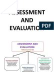 Curriculum Assessment and Evaluation